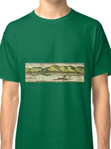 Boppard Vintage map.Geography Germany ,city view,building,political,Lithography,historical fashion,geo design,Cartography,Country,Science,history,urban Classic T-Shirt