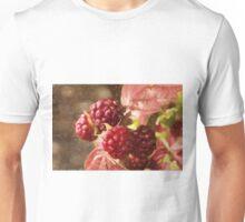 painted raspberries Unisex T-Shirt