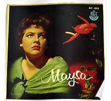 "Maysa - 10"" Brazil, Latin American Lp from South America Poster"