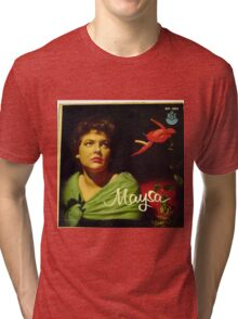 "Maysa - 10"" Brazil, Latin American Lp from South America Tri-blend T-Shirt"