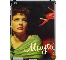 "Maysa - 10"" Brazil, Latin American Lp from South America iPad Case/Skin"