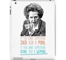 Iron Lady - Margaret Thatcher iPad Case/Skin
