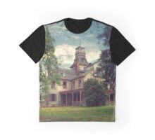 The Mansion at Batsto Graphic T-Shirt