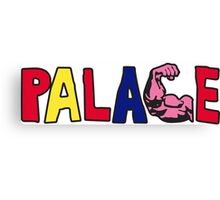 Palace Muscle Logo - Not Supreme, Bape, Gosha Canvas Print