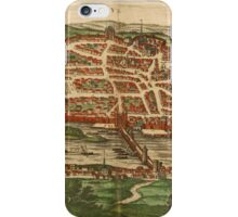 Blois Vintage map.Geography France ,city view,building,political,Lithography,historical fashion,geo design,Cartography,Country,Science,history,urban iPhone Case/Skin