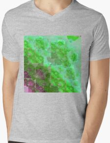 Clouds In Matrix - Abstract Fractal Artwork Mens V-Neck T-Shirt
