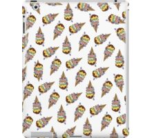 Rainbow Human Ice Cream Pattern iPad Case/Skin