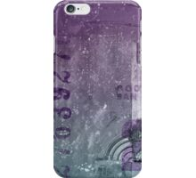 Purple abstract iPhone Case/Skin