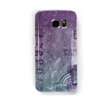 Purple abstract Samsung Galaxy Case/Skin