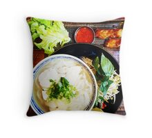Comfort Food: Lunch Throw Pillow