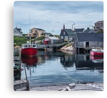 Pegggies Cove Nova Scotia  Canvas Print