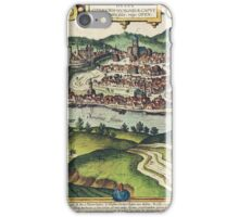 Budapest(2) Vintage map.Geography Hungary ,city view,building,political,Lithography,historical fashion,geo design,Cartography,Country,Science,history,urban iPhone Case/Skin