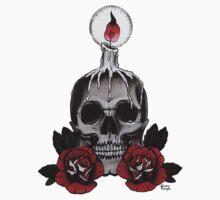 Voodoo Skull Baby Tee