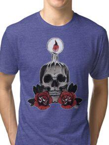 Voodoo Skull Tri-blend T-Shirt