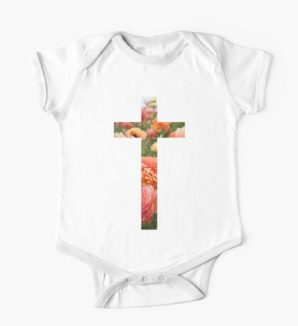 Christian Cross One Piece - Short Sleeve