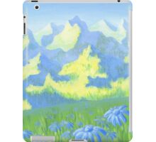 Blue Daisies iPad Case/Skin