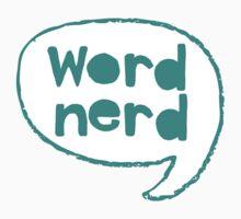 word nerd Kids Tee