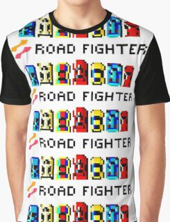 ROAD FIGHTER - 80s CLASSIC ARCADE GAME Graphic T-Shirt