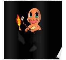 Pocket Charmander Poster