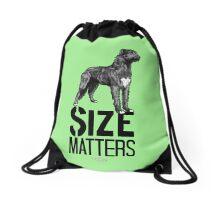 Irish Wolfhound - Size Drawstring Bag