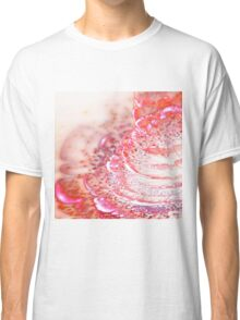 Pink Blooming Flower - Abstract Fractal Artwork Classic T-Shirt