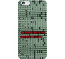 Muse The globalist code iPhone Case/Skin