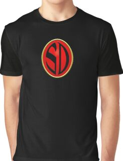 Strontium Dog Badge Graphic T-Shirt