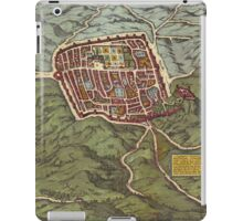 Caiazzo Vintage map.Geography Italy ,city view,building,political,Lithography,historical fashion,geo design,Cartography,Country,Science,history,urban iPad Case/Skin