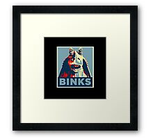 Jar Jar Binks : Hope Framed Print