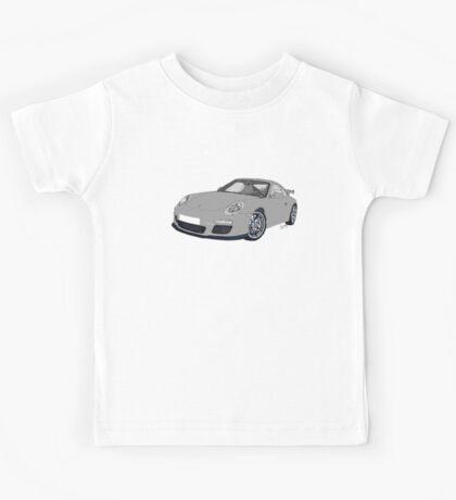 Porsche 911 Always on Top Gears cool wall Kids Tee