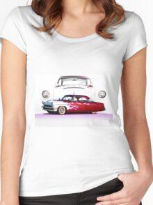 1954 Custom Mercury Monterey Women's Fitted Scoop T-Shirt