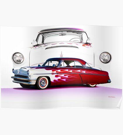 1954 Custom Mercury Monterey Poster