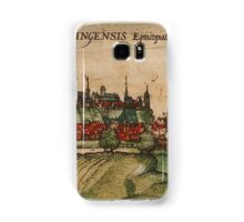 Freising Vintage map.Geography Germany ,city view,building,political,Lithography,historical fashion,geo design,Cartography,Country,Science,history,urban Samsung Galaxy Case/Skin