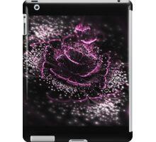 Dark Purple Flower - Abstract Fractal Artwork iPad Case/Skin