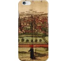 Leuven Vintage map.Geography Belgium ,city view,building,political,Lithography,historical fashion,geo design,Cartography,Country,Science,history,urban iPhone Case/Skin