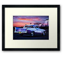 1957 Studebaker Silver Hawk Framed Print