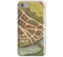 Galway Vintage map.Geography Irland ,city view,building,political,Lithography,historical fashion,geo design,Cartography,Country,Science,history,urban iPhone Case/Skin