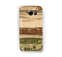 Gennep Vintage map.Geography Netherlands ,city view,building,political,Lithography,historical fashion,geo design,Cartography,Country,Science,history,urban Samsung Galaxy Case/Skin