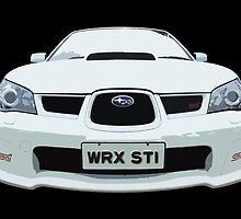 Subaru WRX STI 2nd Gen by Clintpix