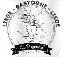 Liege - Bastogne - Liege Poster