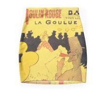 Toulouse Lautrec - La Goulue Mini Skirt