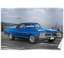 1968 Chevrolet El Camino SS396 Poster