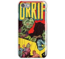 Horrific Tales cover 1 iPhone Case/Skin