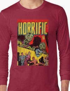 Horrific Tales cover 1 Long Sleeve T-Shirt