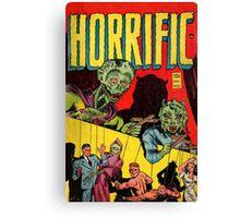 Horrific Tales cover 1 Canvas Print