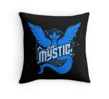 Team Mystic Spirit! Throw Pillow