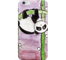 Silly Panda iPhone Case/Skin
