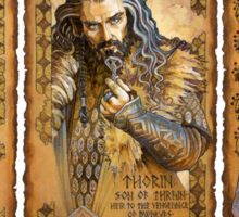 Dwalin, Thorin and Thranduil Sticker