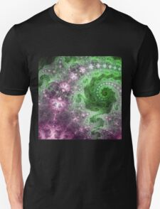 Swirly Universe - Abstract Fractal Artwork Unisex T-Shirt