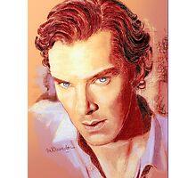 Benedict Cumberbatch Artwork Design 1 Photographic Print
